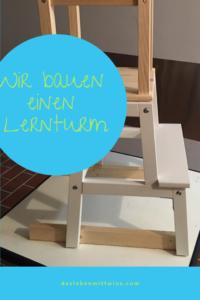 Lernturm bauen - Das Leben mit Twins